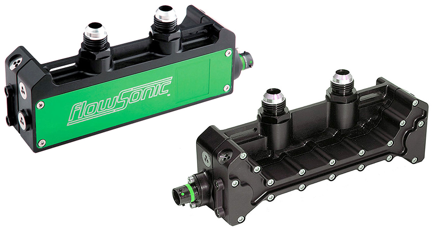 New F1 Fuel Flow Sensor - FlowSonic Elite