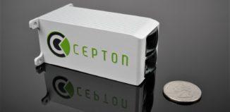 Cepton miniature Nova lidar