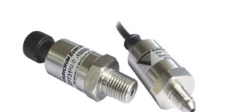 Type approved pressure sensors